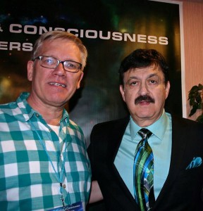 With George Noory at the Starworks USA 2015 conference in Laughlin, NV, USA